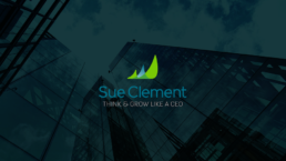 Sue Clement logo design by KIAI Agency